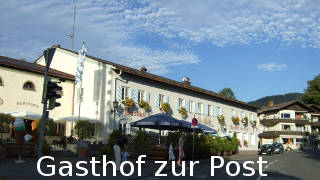 Gasthof zur Post in Benediktbeuern